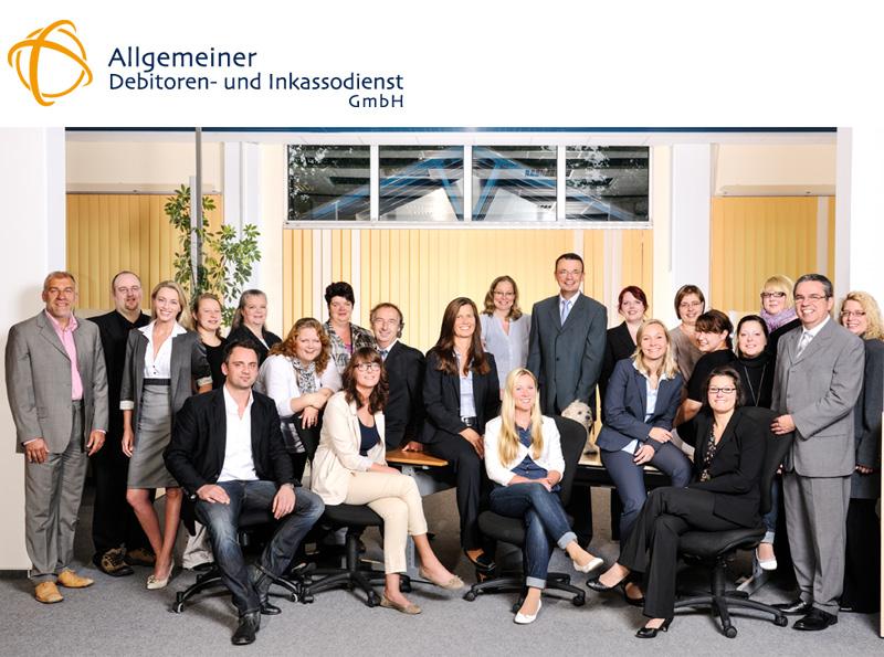 Inkasso-Kompetenzteam der Allgemeiner Debitoren- und Inkassodienst GmbH