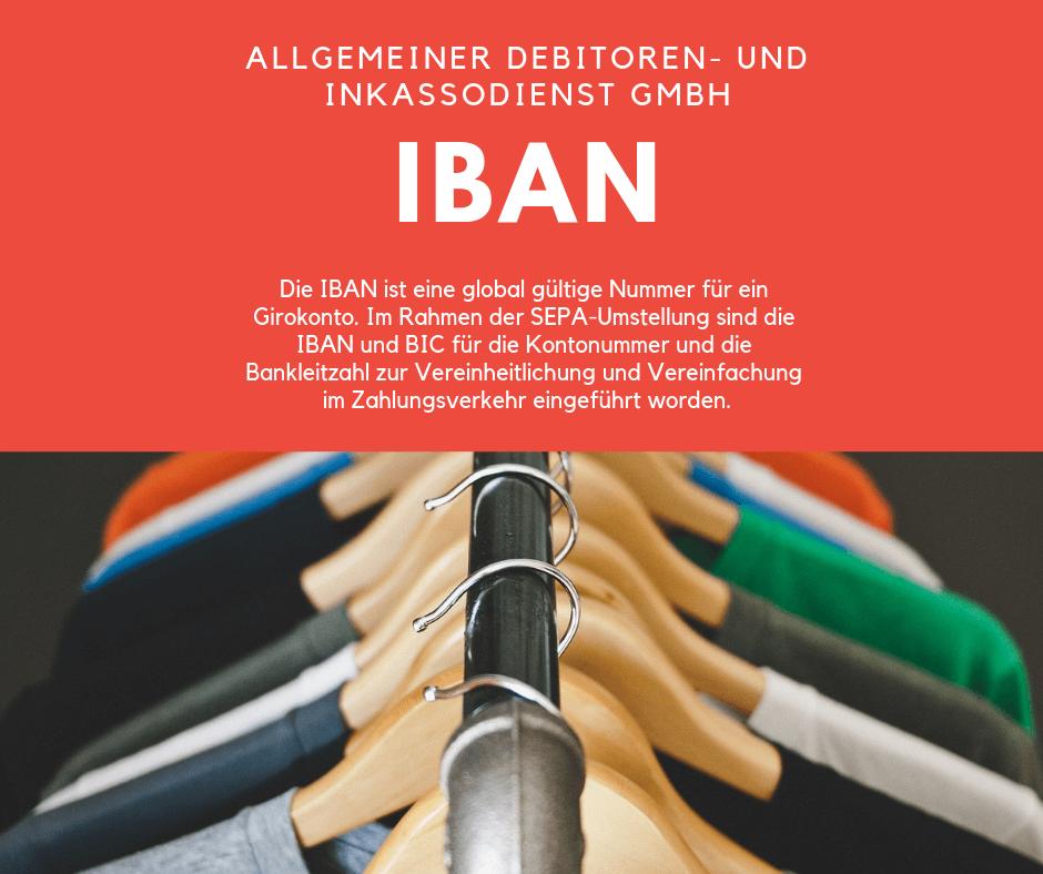 Allgemeiner Debitoren- und Inkassodienst GmbH iban