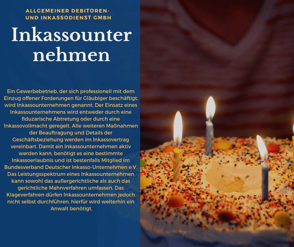 Allgemeiner Debitoren- und Inkassodienst GmbH inkassounternehmen