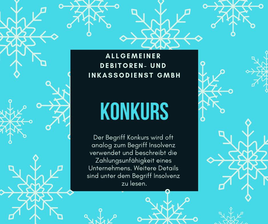Allgemeiner Debitoren- und Inkassodienst GmbH konkurs